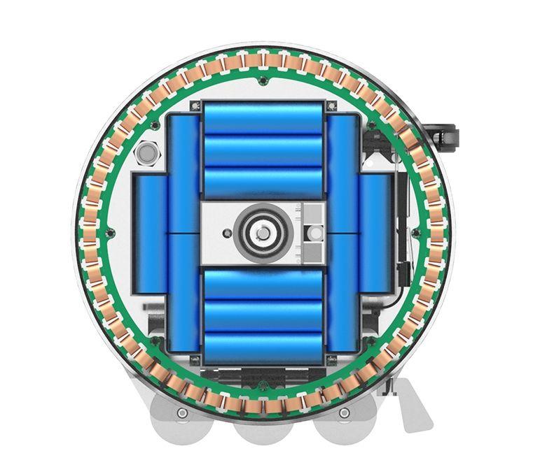 blizwheel vue moteur schéma
