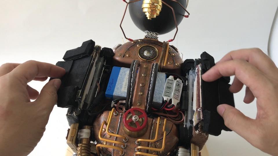 mod steampunk wheel Mten batterie