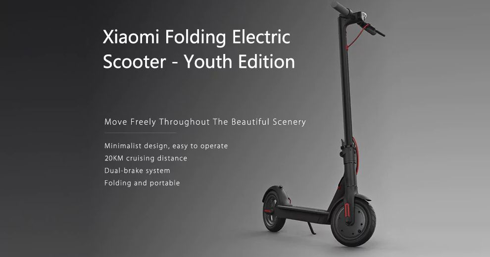 trottinette xiaomi m187 youth edition