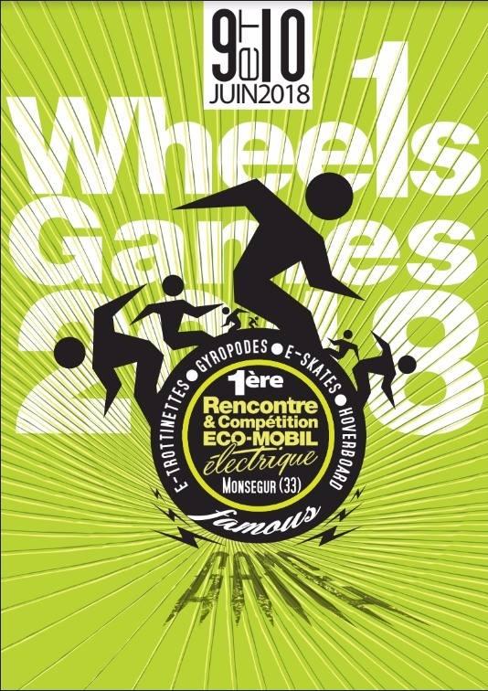 affiche wheels games 2018
