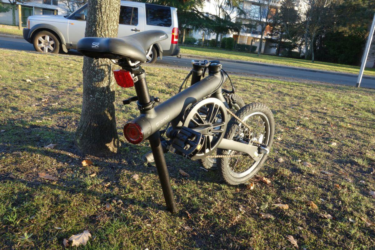 vélo QiCycle plié