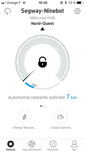 App Ninebot iOS