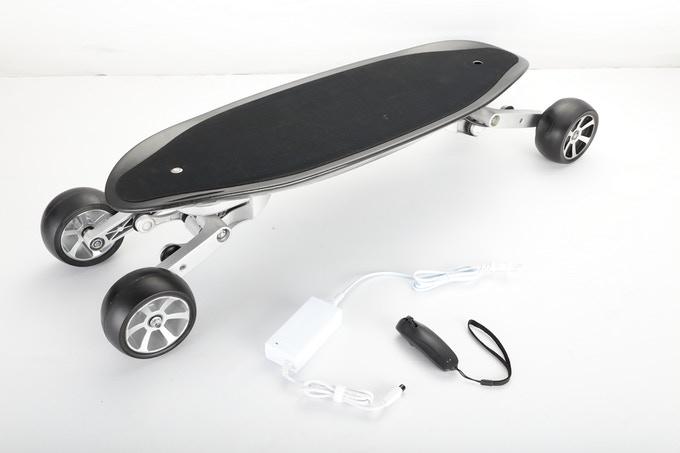 skate électrique KKA S1 avec télécommande et chargeur secteur