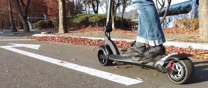trottinette électrique wide wheel