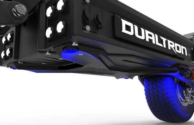 Dualtron X rendu 3D deck et LED