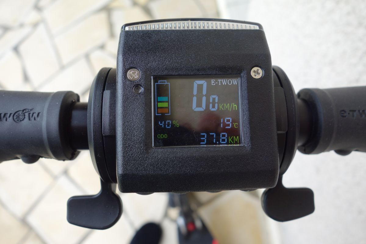 Compteur LCD etwow booster s
