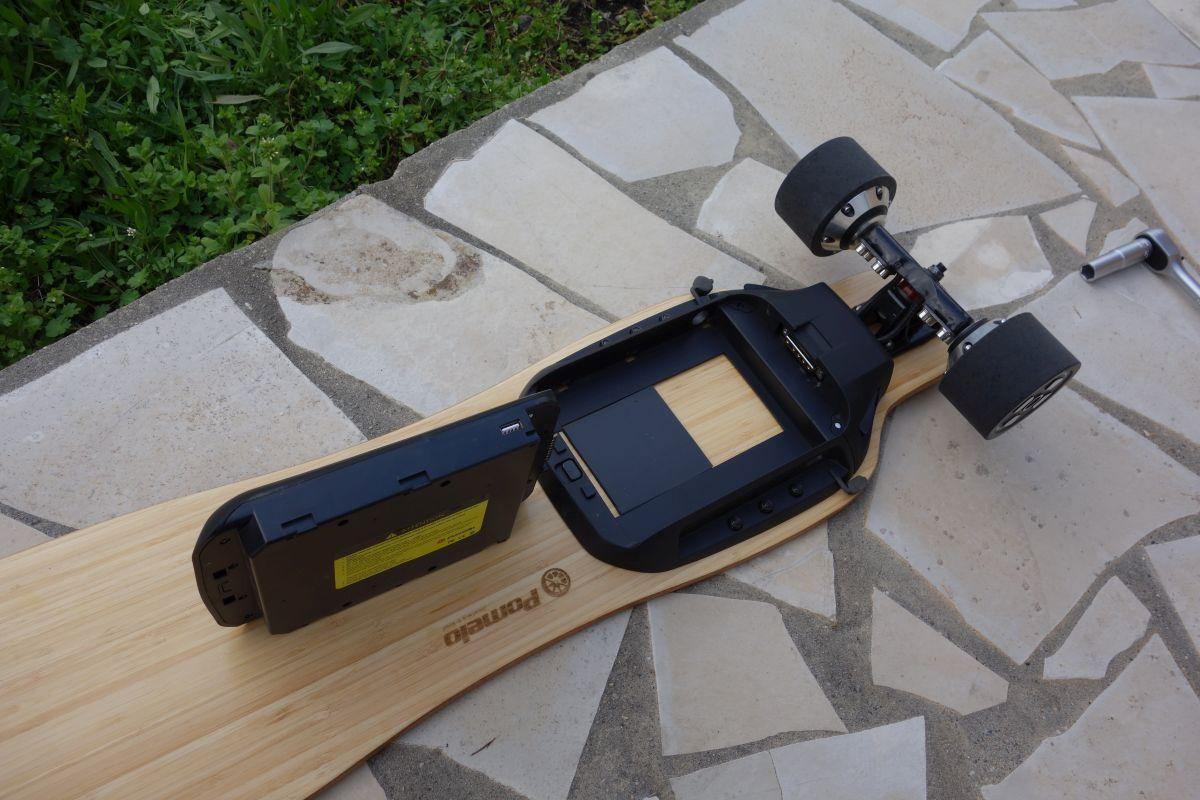 Pomelo P5 batterie sortie
