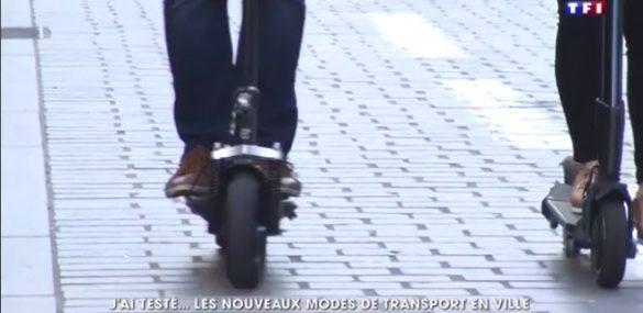 Gyroroue, trott et Onewheel au 20h de TF1