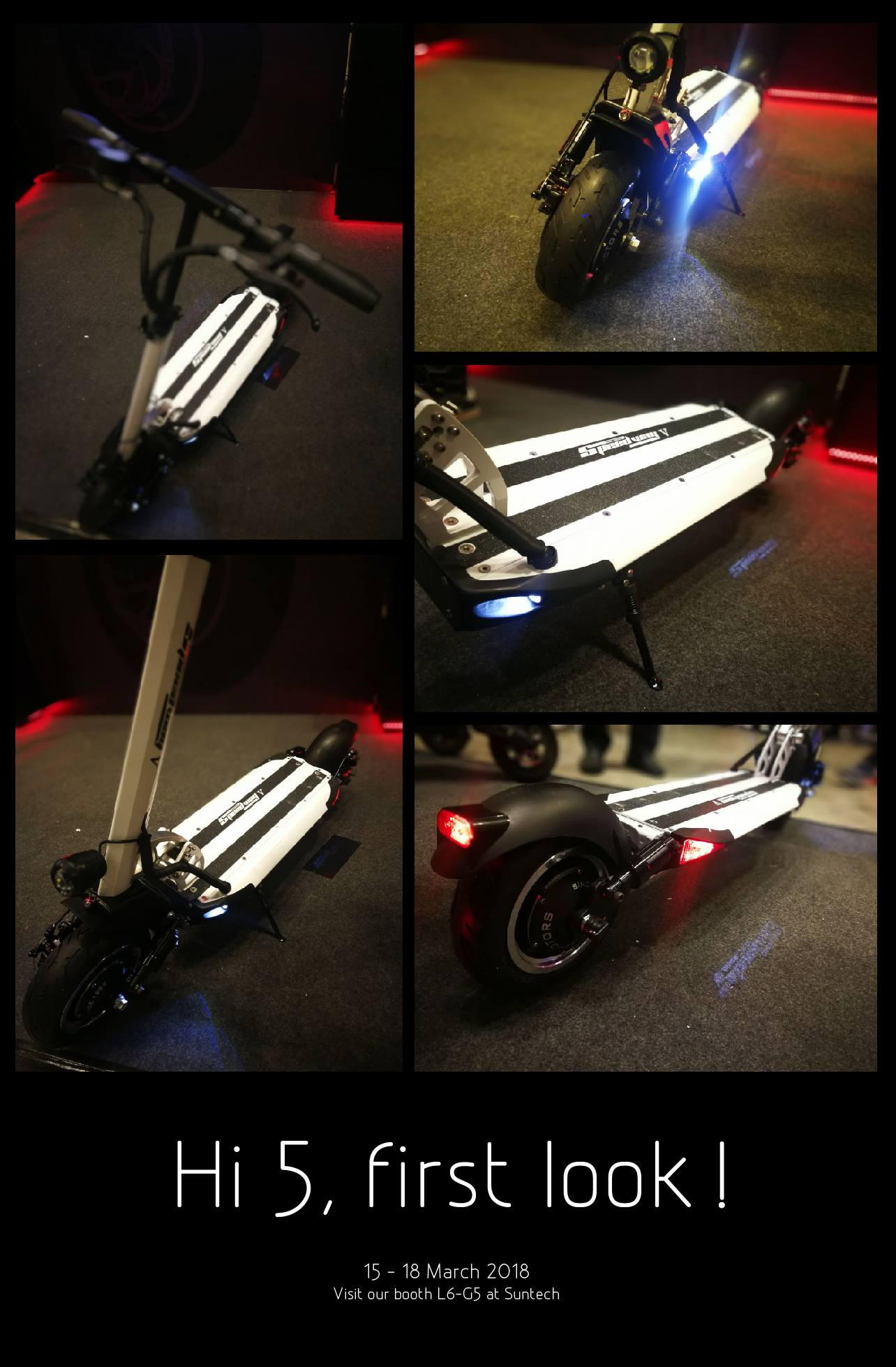 Speedway 5 Minimotors