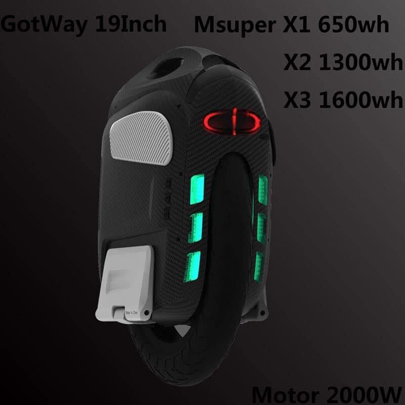 gotway msuper x roue