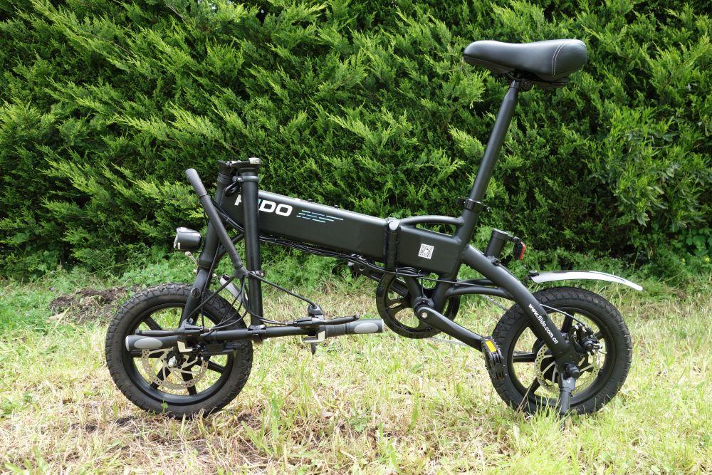 Fiido D1 vélo électrique guidon plié