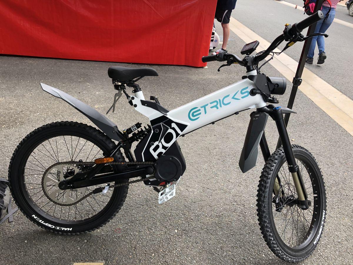 vélo électrique etricks