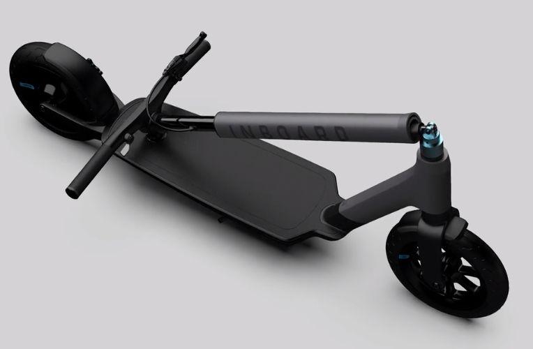 inboard glider pliage