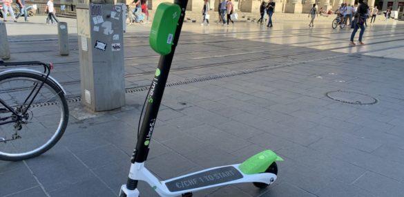 A Lyon, Lime va brider ses trottinettes à 8 Km/h en zone piétonne