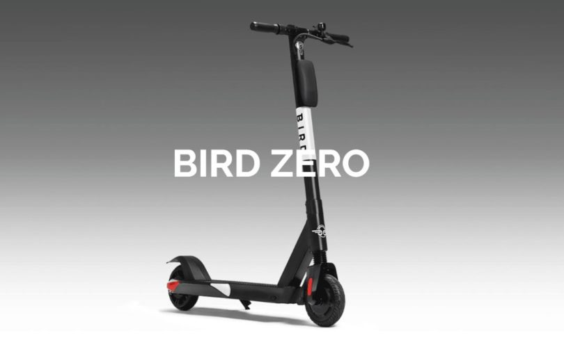 bird zero trottinette