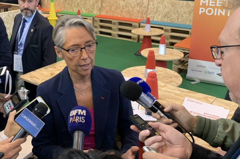 Elisabeth Borne à Autonomy Paris