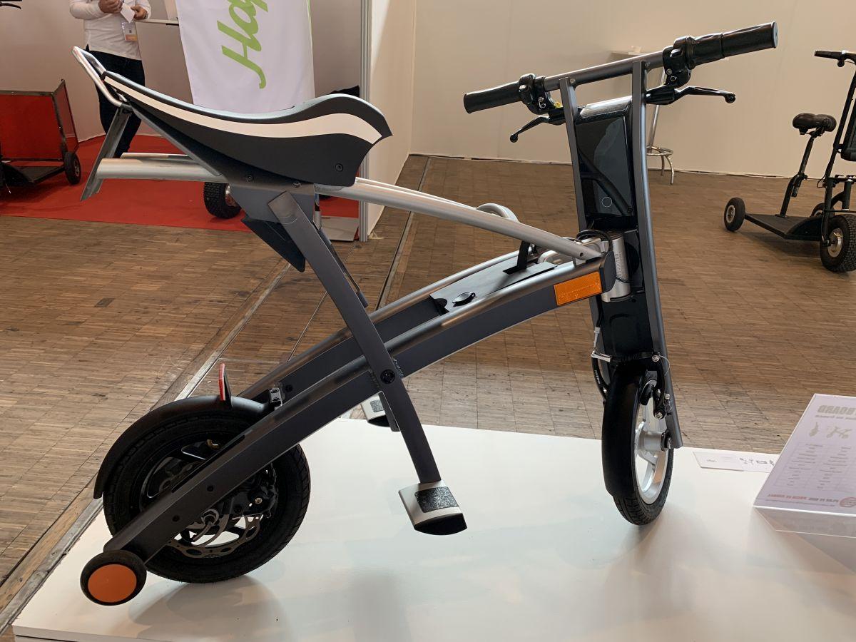 scooter électrique Stigo profil