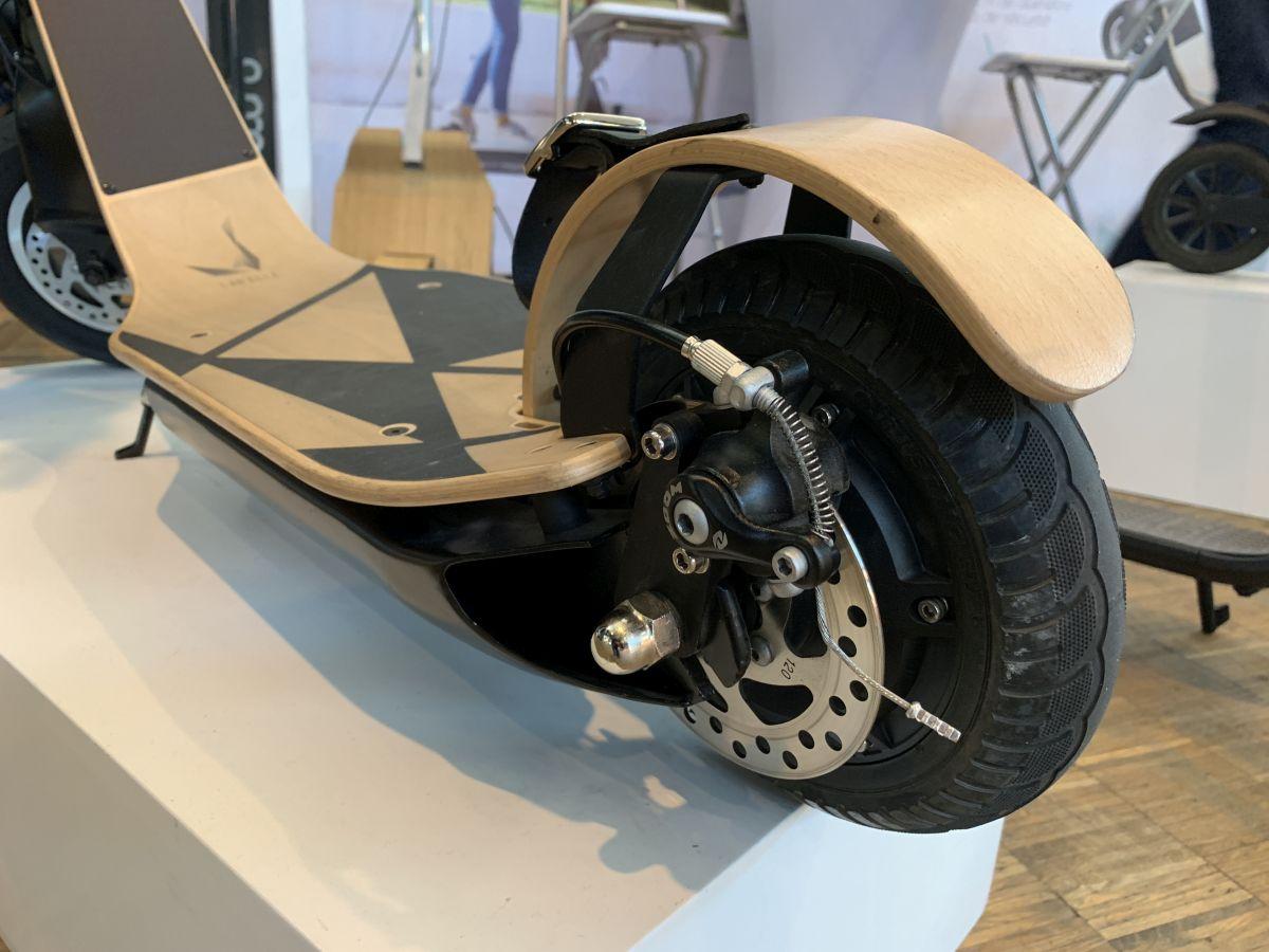 trottinette électrique Labelle frein arrière
