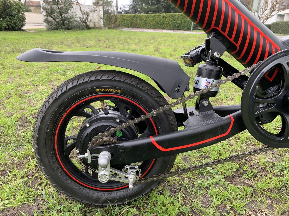 vélo Guangya Y1 zoom moteur