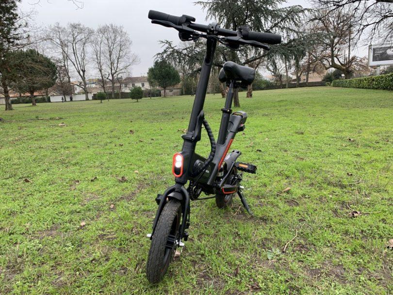vélo Guangya Y1 de face
