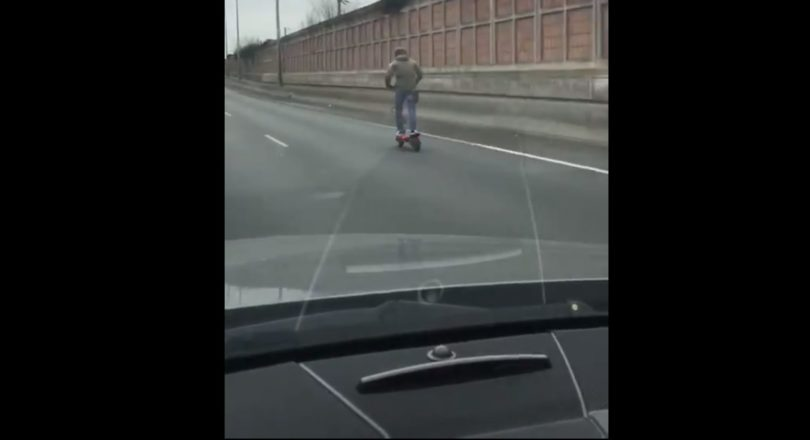 trottinette autoroute