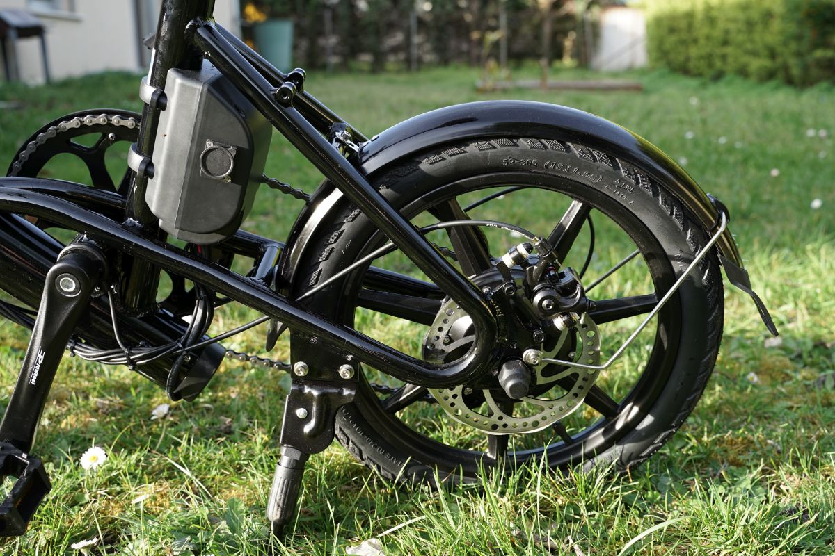 Fiido D3 roue arrière