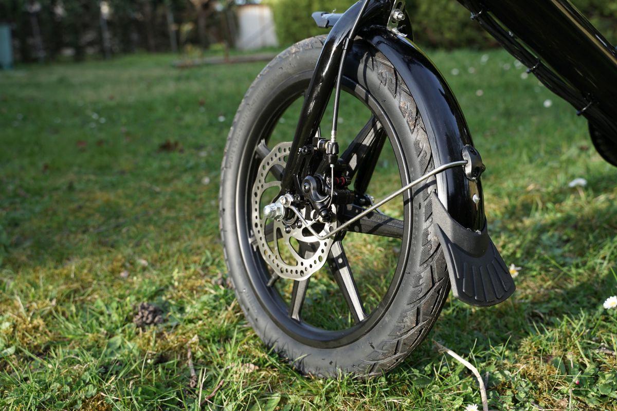 Fiido D3 roue avant garde boue bavette