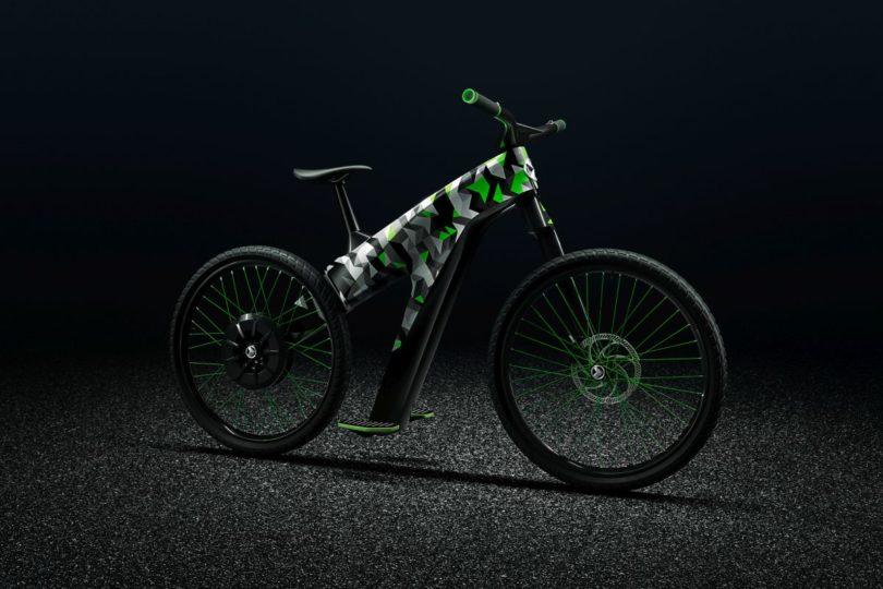 Klement Skoda vélo électrique