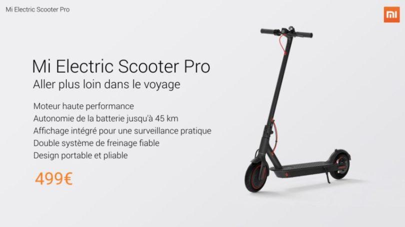lancement mi m365 pro france