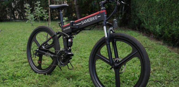 Test Samebike LO26 : VTT pliant électrique à 700 euros