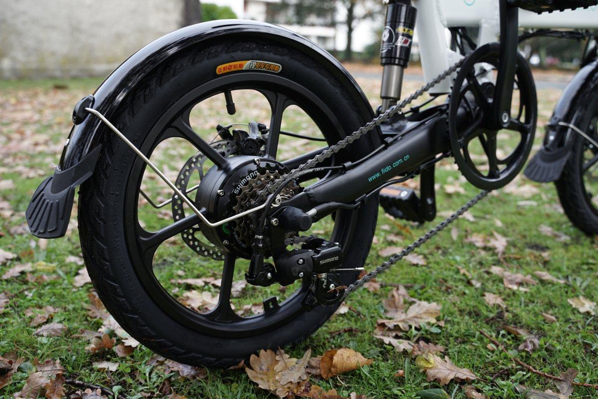 Fiido D2 roue arrière