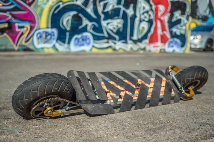 speedboard skate électrique