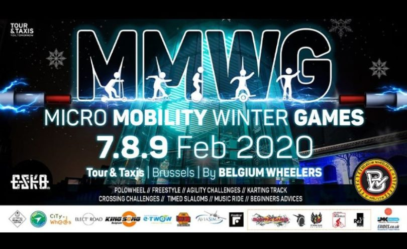 affiche micro mobility winter games