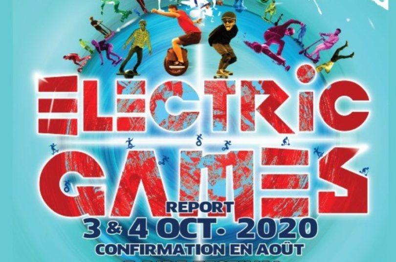 electic games 2020 en octobre