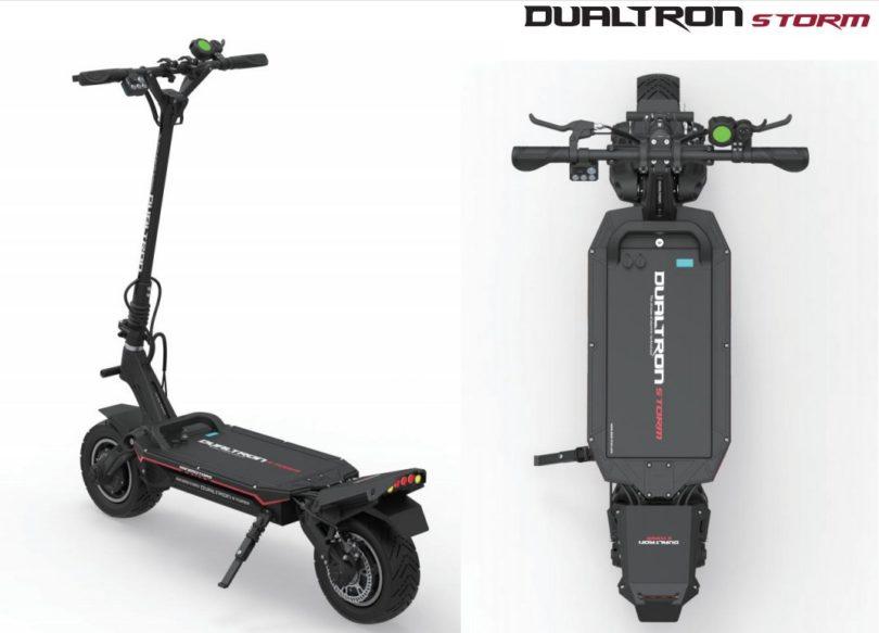 dualtron storm visuel et logo