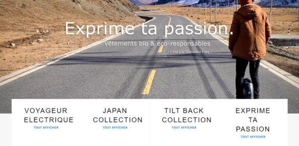 Wheelrider, la marque de tee-shirt par Monsieur Flex