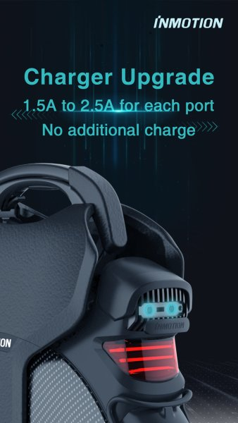 V11 upgrade ports de recharge
