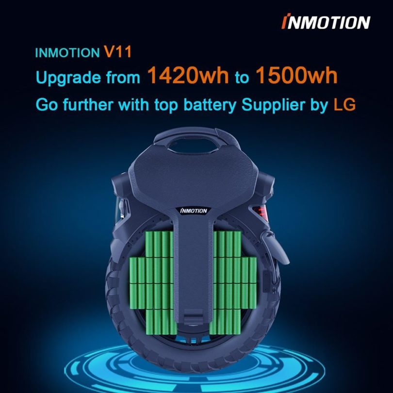 upgrade batterie v11