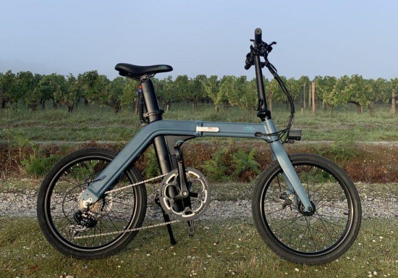 Test Fiido D11 image de une vélo vignes